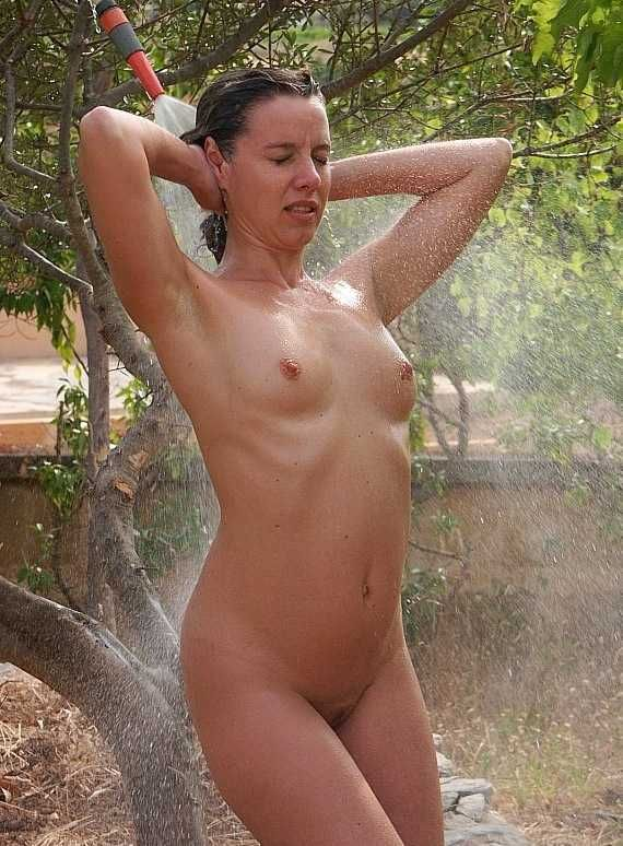 Nude outdoor shower opinion you
