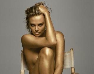 Photos of naked Charlize Theron