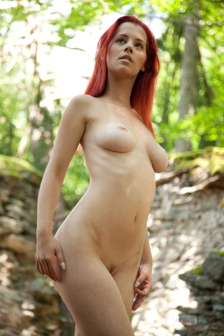 Delightful red-headed girl Ariel - 01