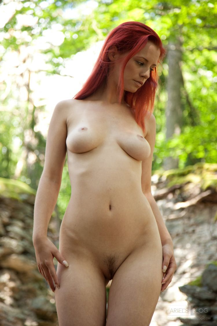Delightful red-headed girl Ariel - 03