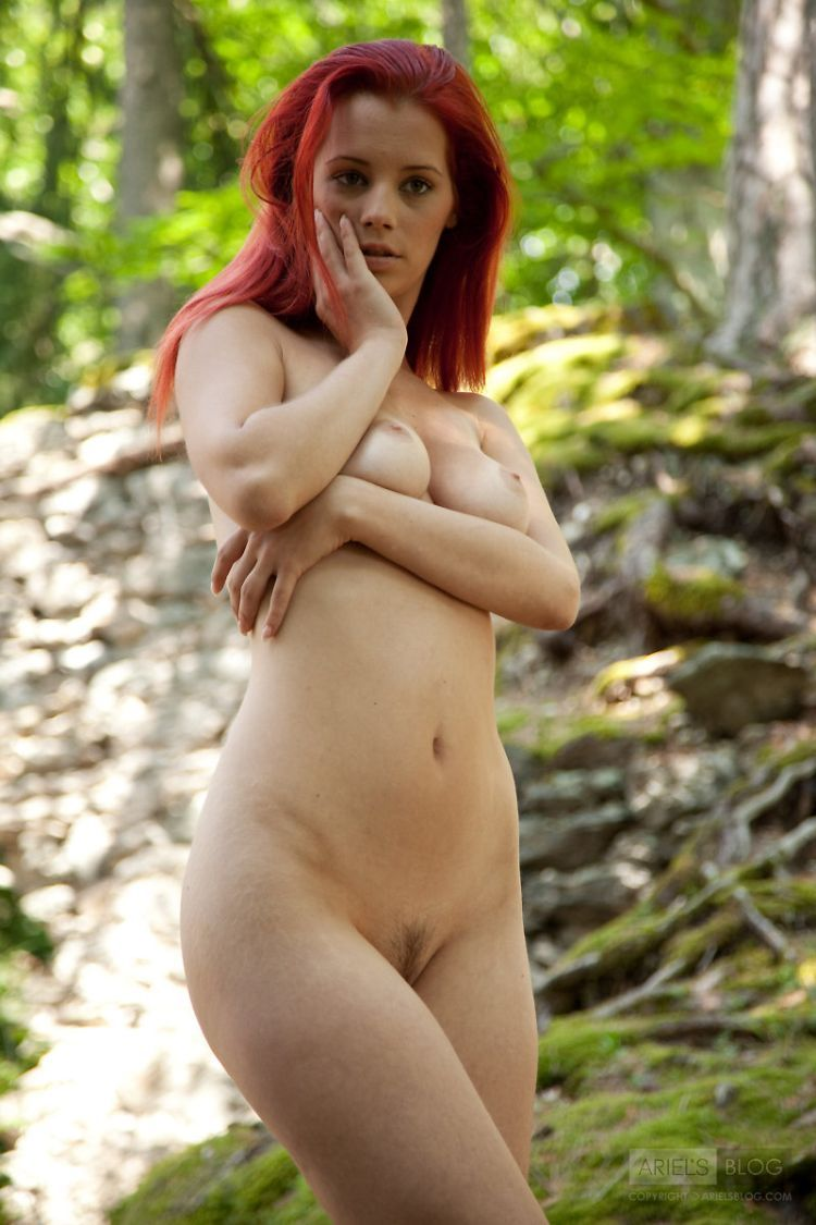 Delightful red-headed girl Ariel - 04