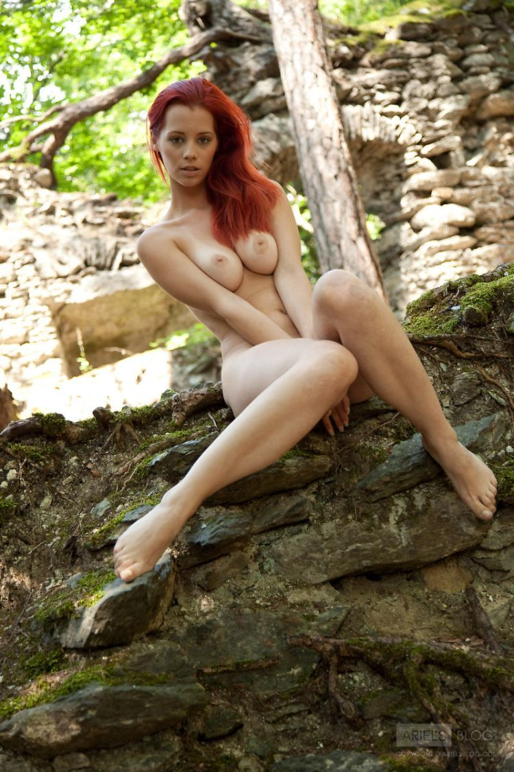 Delightful red-headed girl Ariel - 05