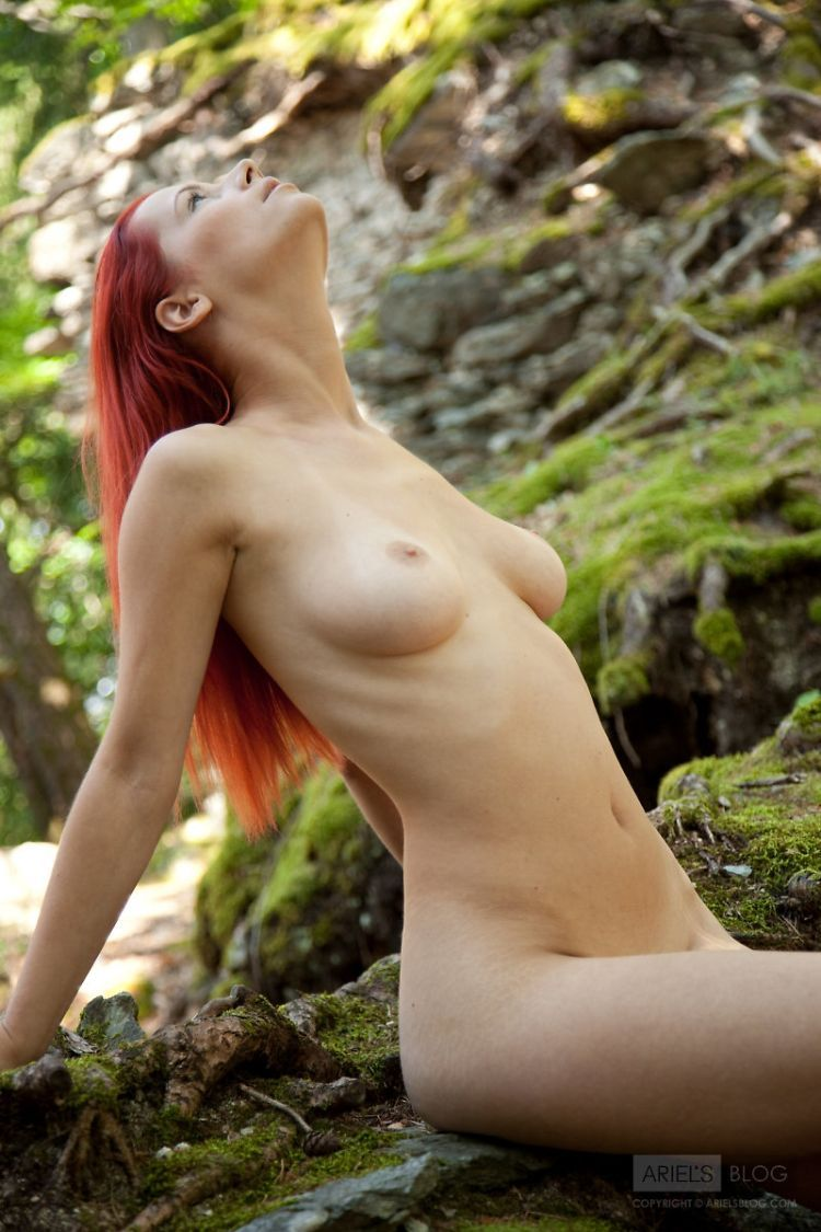 Delightful red-headed girl Ariel - 07