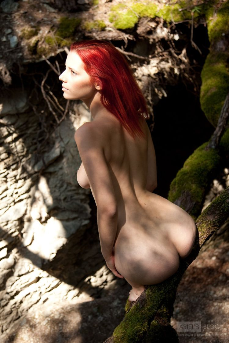 Delightful red-headed girl Ariel - 08