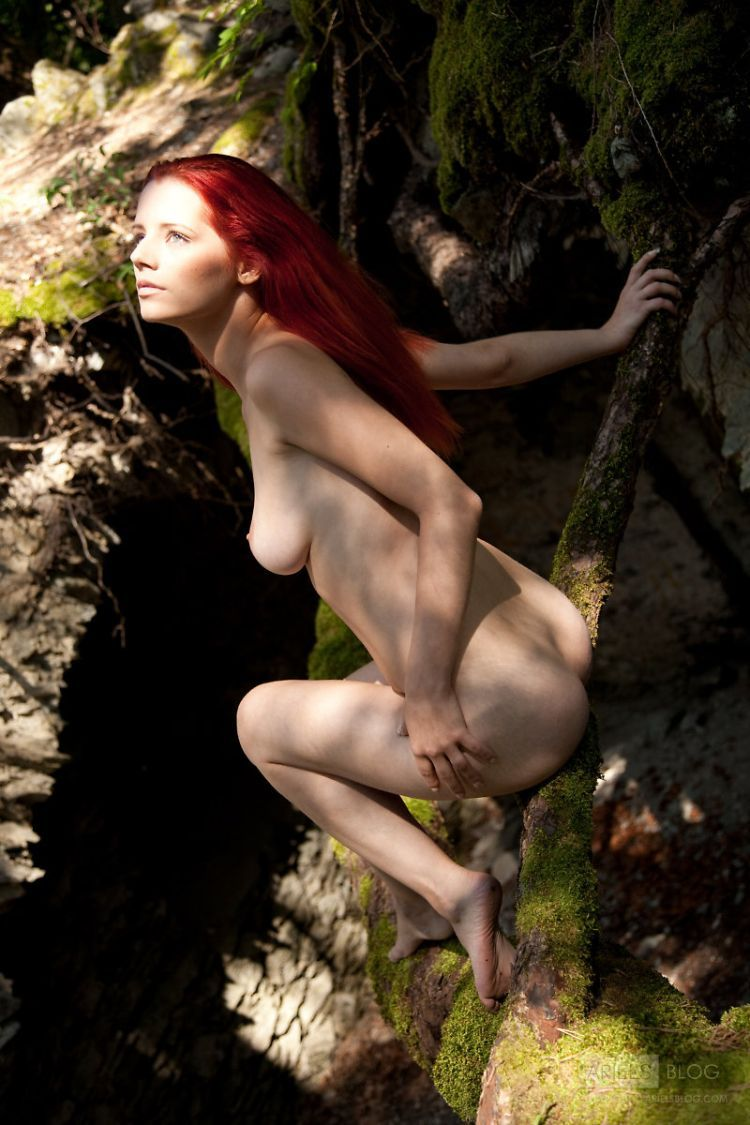 Delightful red-headed girl Ariel - 09