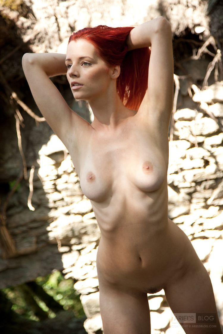Delightful red-headed girl Ariel - 10