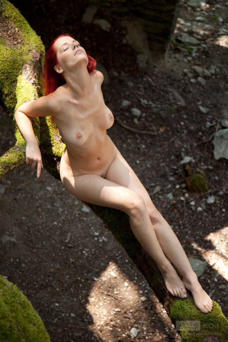 Delightful red-headed girl Ariel - 12