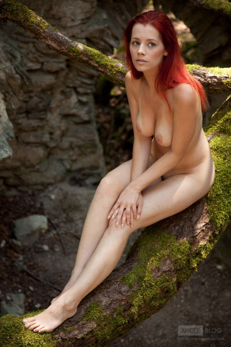 Delightful red-headed girl Ariel - 13