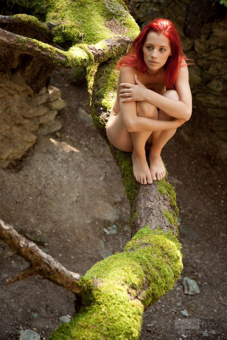 Delightful red-headed girl Ariel - 14