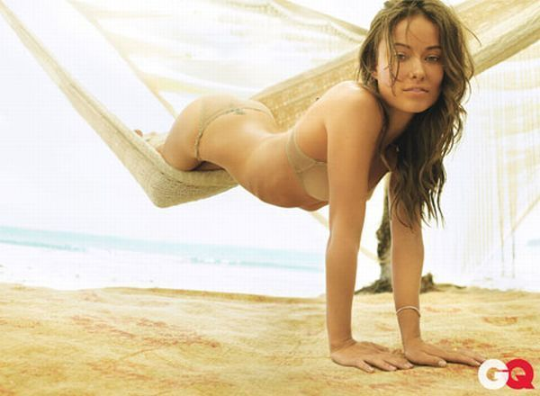 Actress Olivia Wilde in GQ magazine - 00