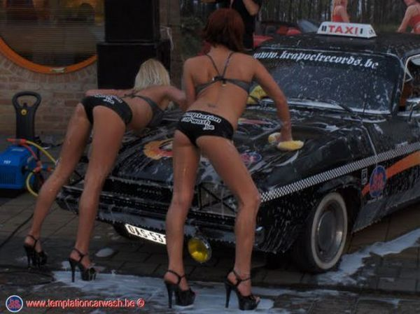 Car wash championship in Belgium - 00