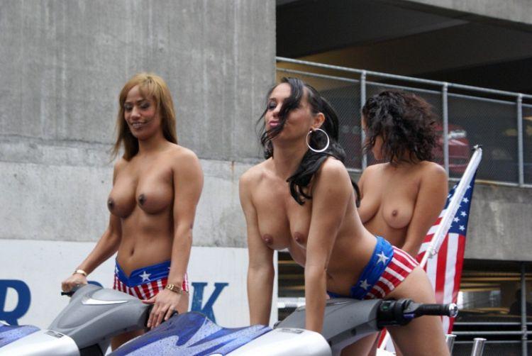 boobs on bikes auckland