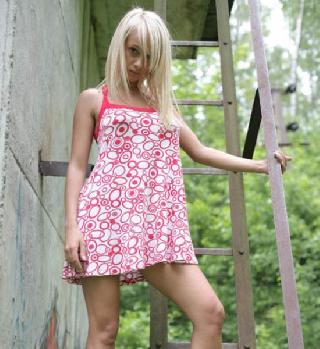 Kick-ass young blonde. Definitely a girl of the day