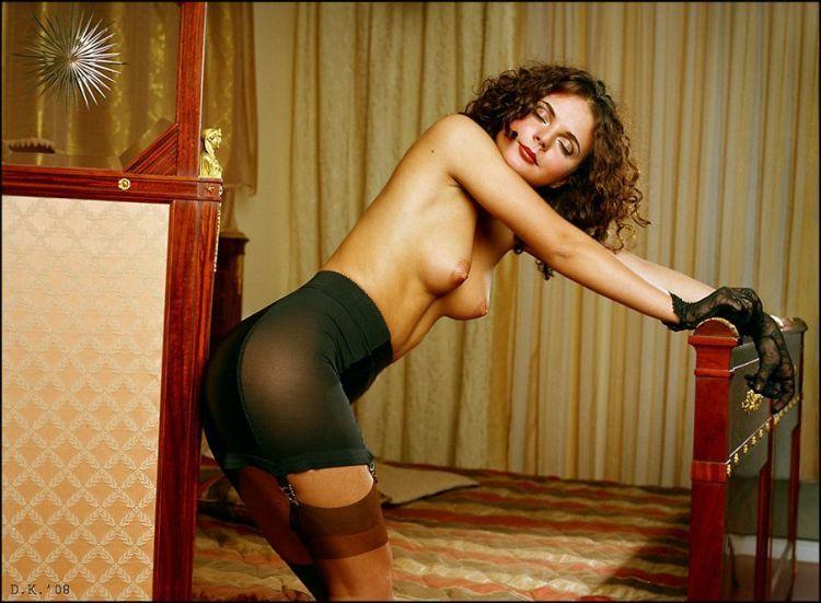 порно фото чулки со швом