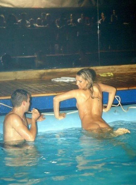 Nude Couples At Pool