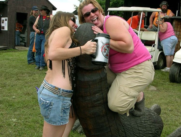 The most horrible pictures from the Harley Festival - 00