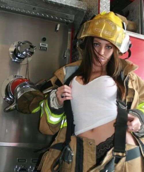 These girls will make you feel safe in front of any fire - 00