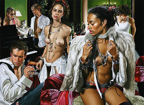 Hyper-glam-realism in the works of artist Terry Rogers - 01