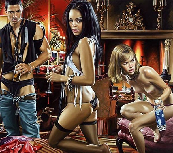 Hyper-glam-realism in the works of artist Terry Rogers - 10