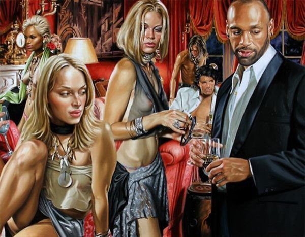Hyper-glam-realism in the works of artist Terry Rogers - 11