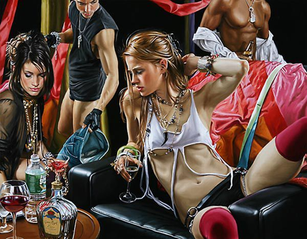 Hyper-glam-realism in the works of artist Terry Rogers - 18