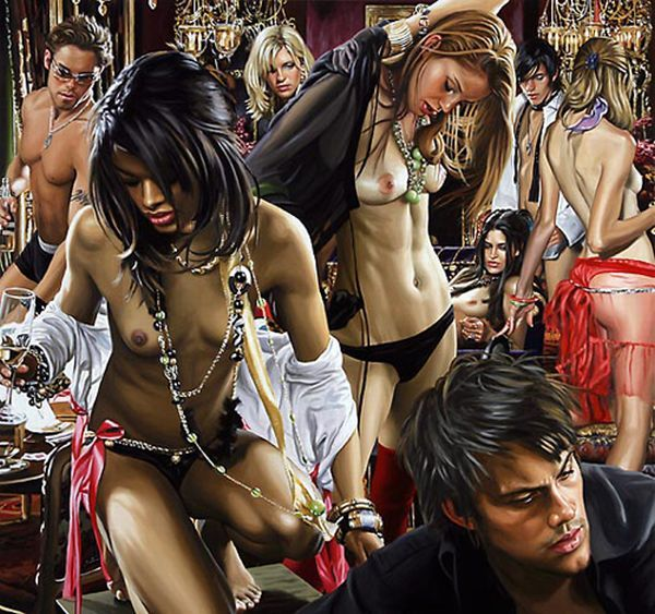 Hyper-glam-realism in the works of artist Terry Rogers - 20