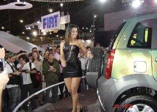 Good advertising at the auto show