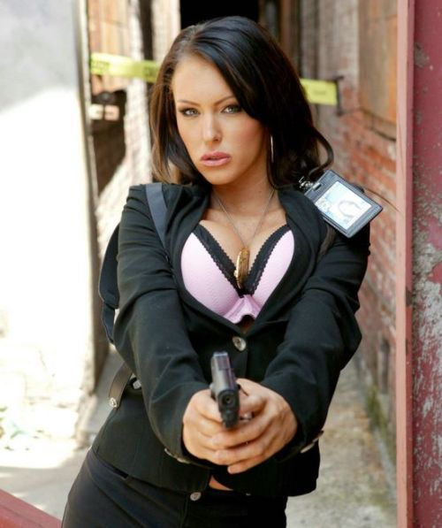 Sexy Jenna Presley as a special agent - 00