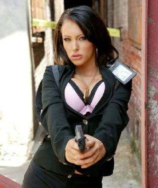 Sexy Jenna Presley as a special agent