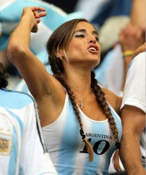 Sexy soccer female fans - 00
