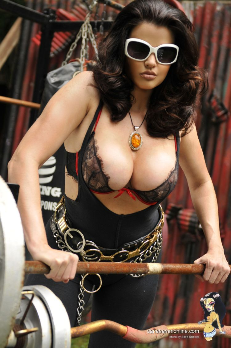Dana Hamm and her magnificent breasts - 01