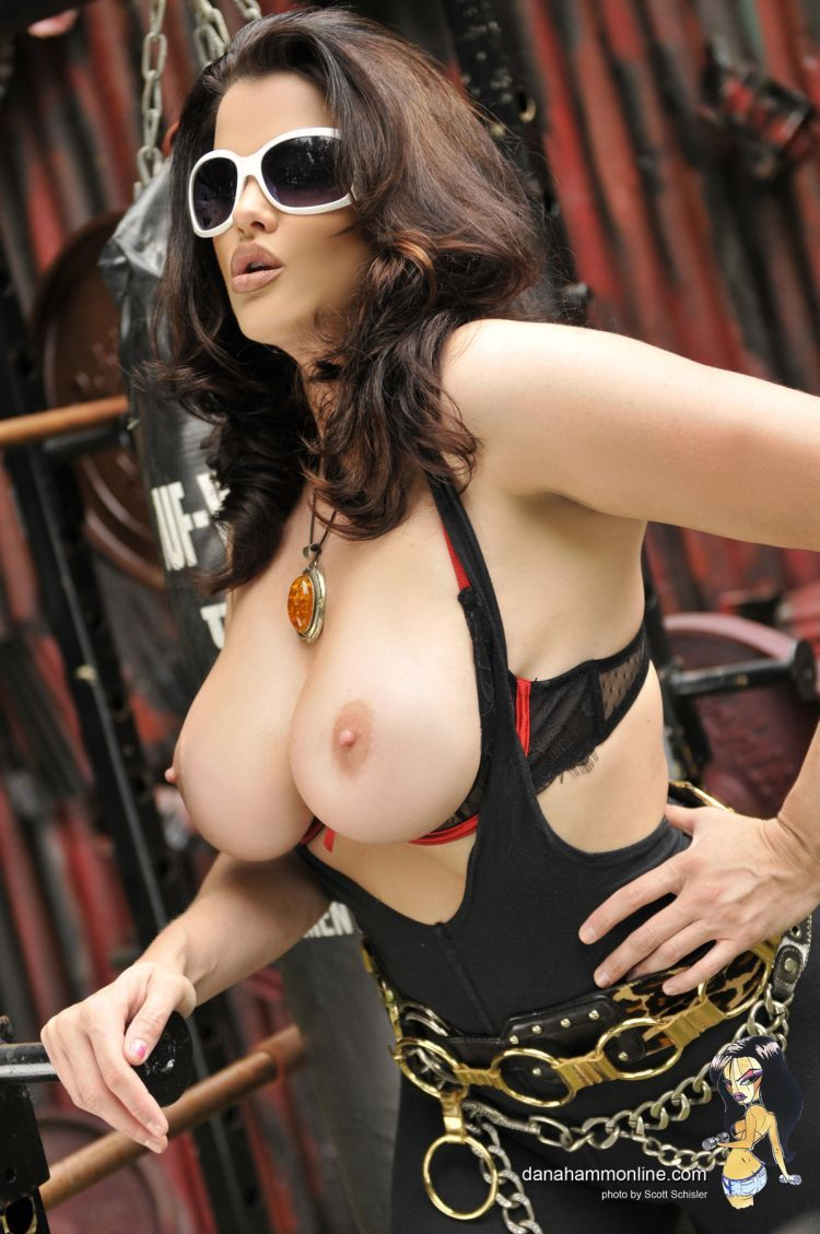 Dana Hamm and her magnificent breasts - 08