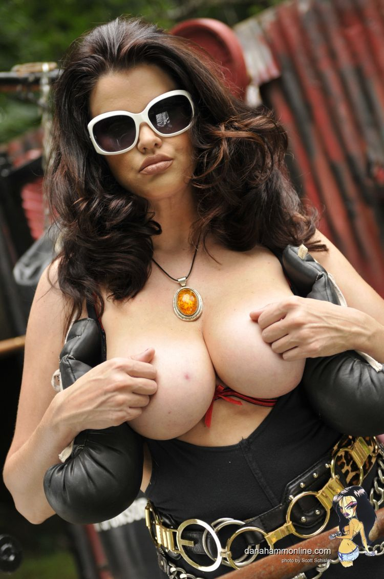 Dana Hamm and her magnificent breasts - 09