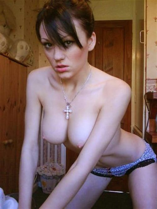Compilation of amateur photos of girls with big boobies - 23