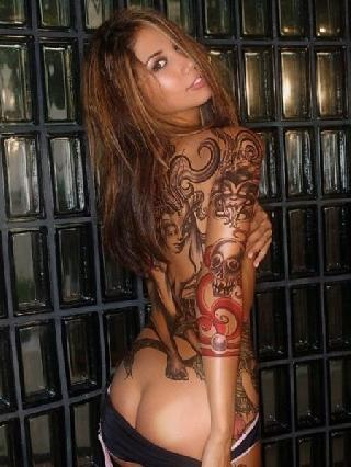 Excellent selection with tattooed chicks