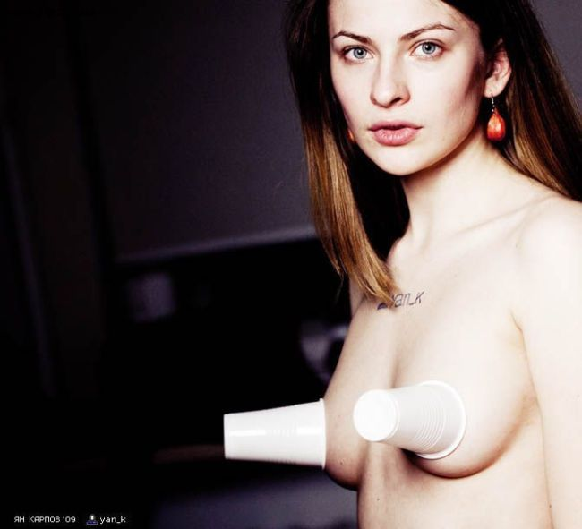 Russian blogger girls topless - 41