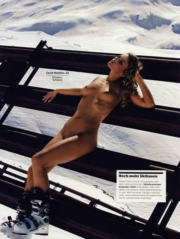 German female skiers in PLAYBOY - 10