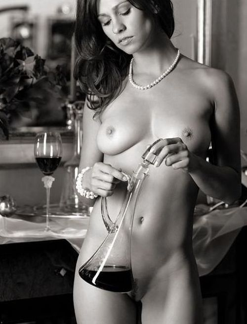 Women and alcohol - very erotic - 03