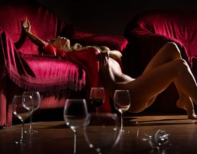 Women and alcohol - very erotic - 04