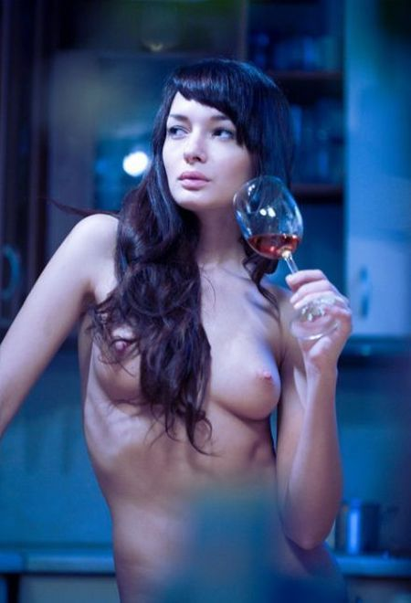 Women and alcohol - very erotic - 06