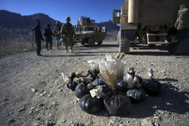 OMG of the day. The problem of drug addiction and drug production in Afghanistan - 07