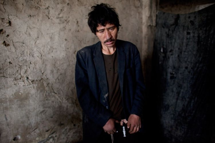 OMG of the day. The problem of drug addiction and drug production in Afghanistan - 17