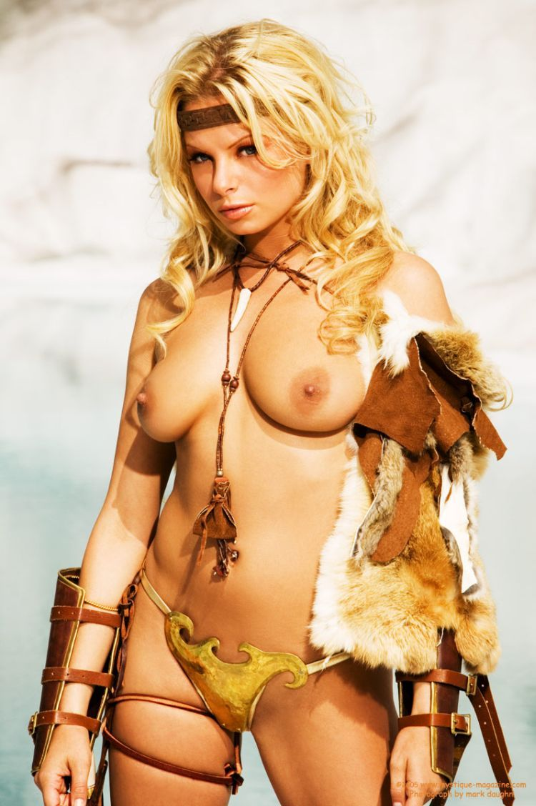 Fantasy nude warrior girls