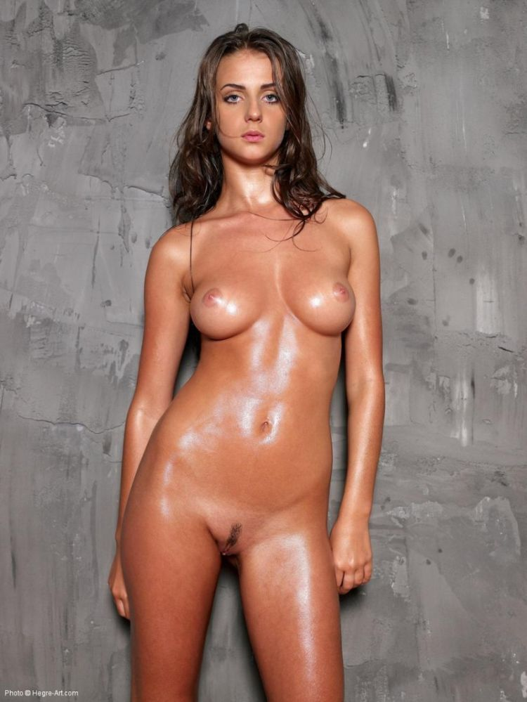 Baby oil nude pics long