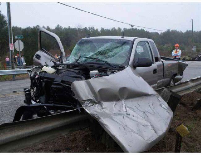 A Fiery Truck Crash - 00