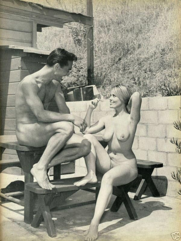 Large collection of erotic photos from the past - 76