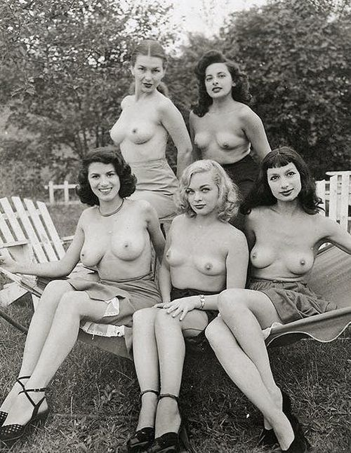 Large collection of erotic photos from the past - 92