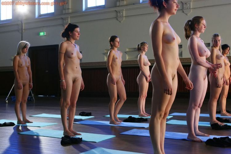 Naked girls do yoga - 08
