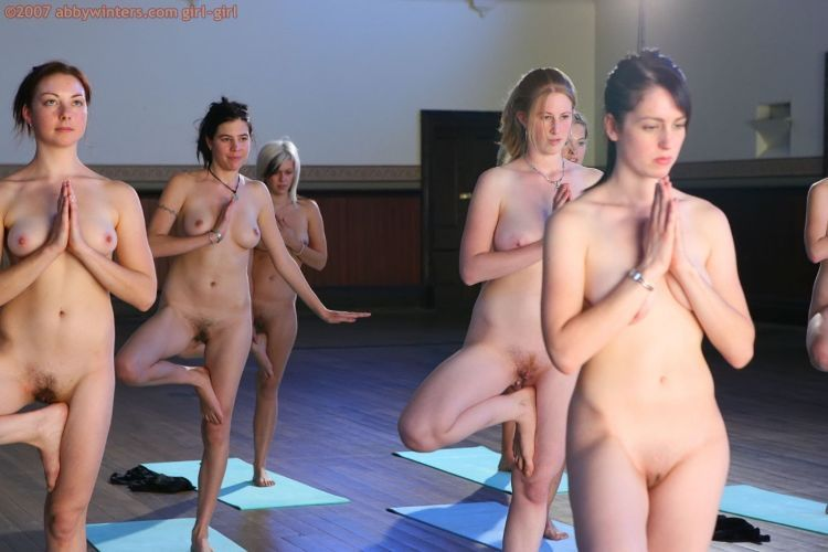 Naked girls do yoga - 09