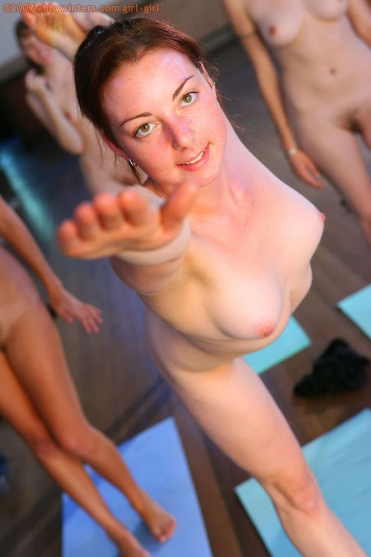 Naked girls do yoga - 13
